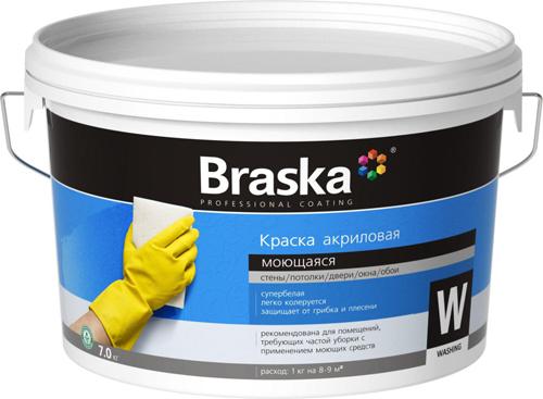 Моющаяся водоэмульсионная краска для стен